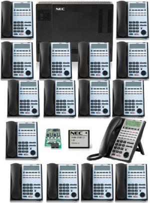 NEC 1100 with 16 Phones and Voice Mail $3199.00