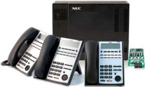 NEC 1100 Starter Kit with 3) 12-Button Display Phones $749.00