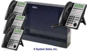 NEC 1100 Starter Kit with (1) Operator  Console & (3) Digital Work Station Phones $928.00