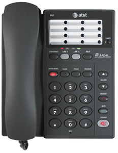 ATT983 2 Line Business Phone  $43.92