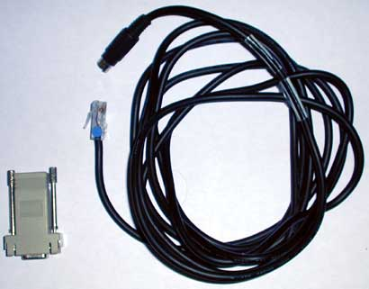 NEC DS2000 PC Admin SMDR Cable & Serial Adapter