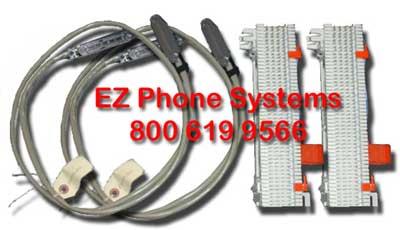 Vodavi Starplus STS & STSe EZ Installation Plug N Play Cable & Block Kit
